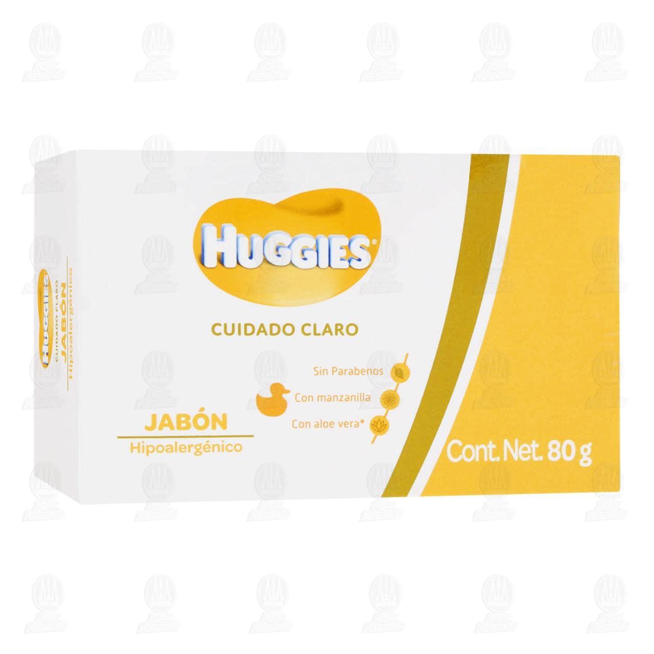 Comprar Jabón Corporal Huggies Cuidado Claro Manzanilla Aloe, 80 gr. en Farmacias Guadalajara