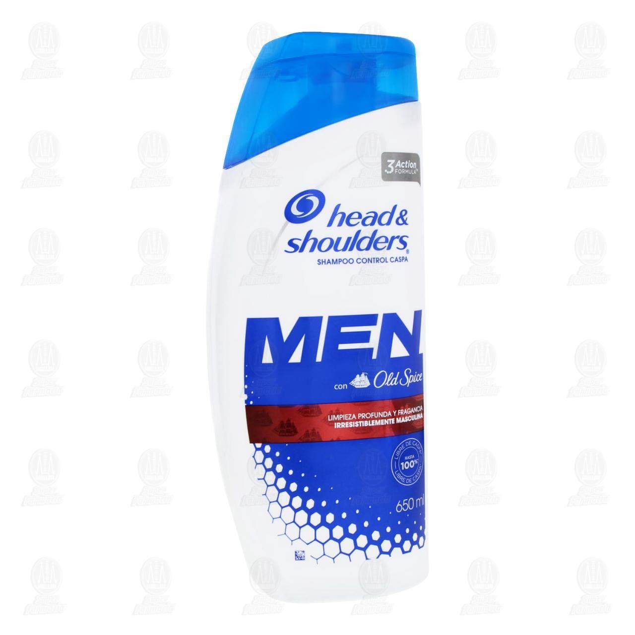 Comprar Shampoo Head & Shoulders Control Caspa Men, 650 ml. en Farmacias Guadalajara