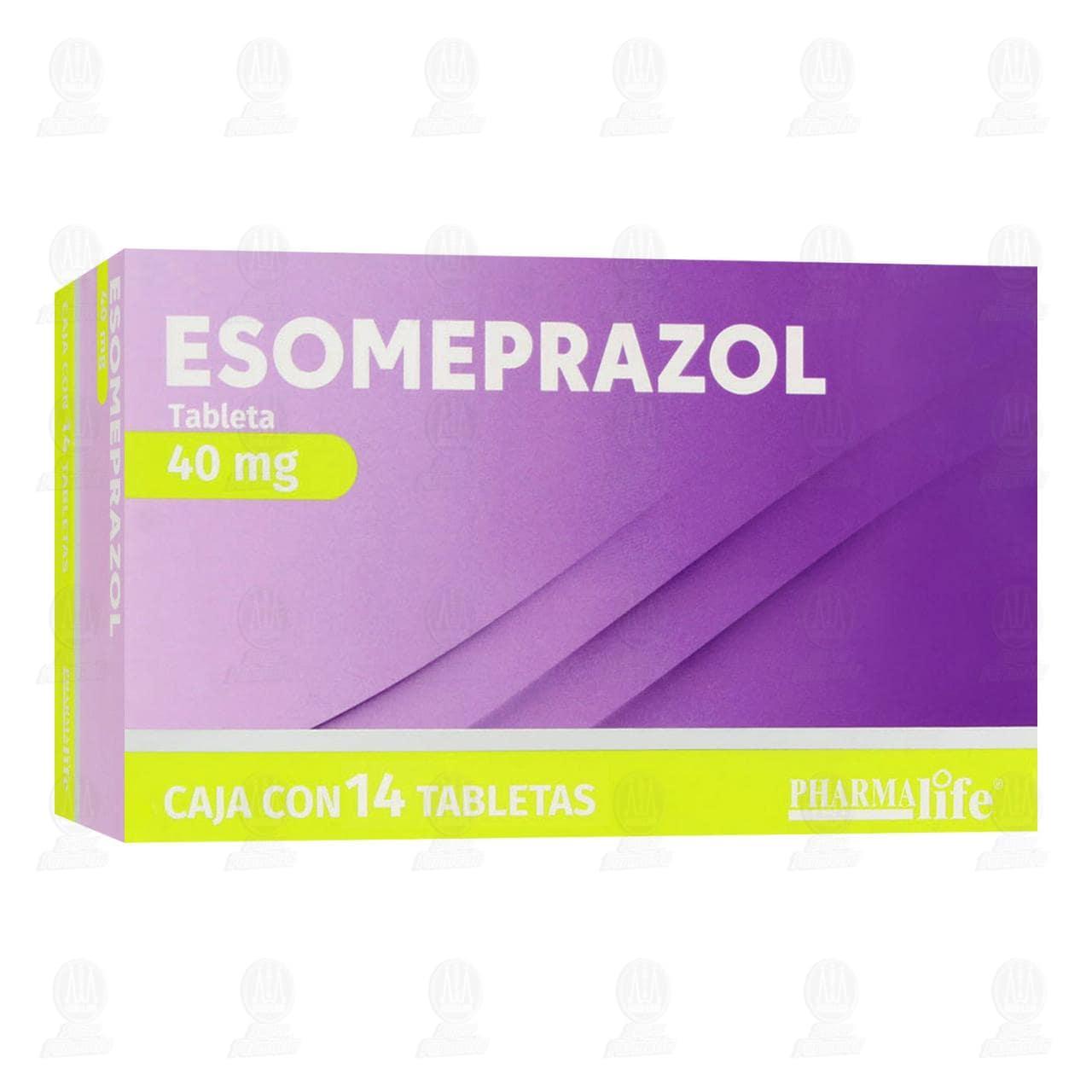 Comprar Esomeprazol 40mg 14 Tabletas Pharmalife en Farmacias Guadalajara
