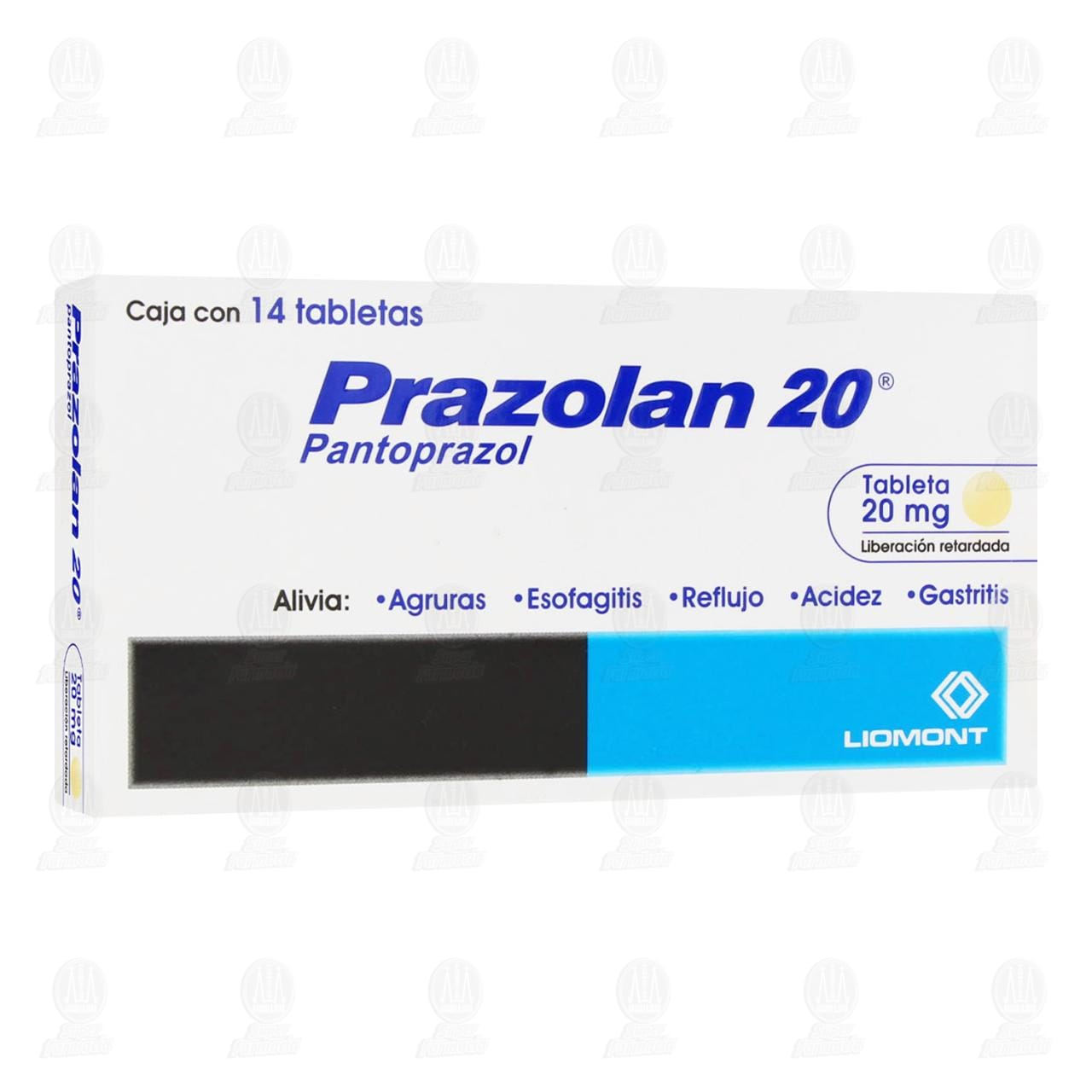 Comprar Prazolan 20mg 14 Tabletas en Farmacias Guadalajara