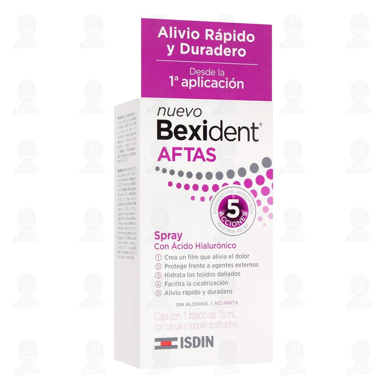 Comprar Isdin Bexident Aftas Spray, 15 ml. en Farmacias Guadalajara