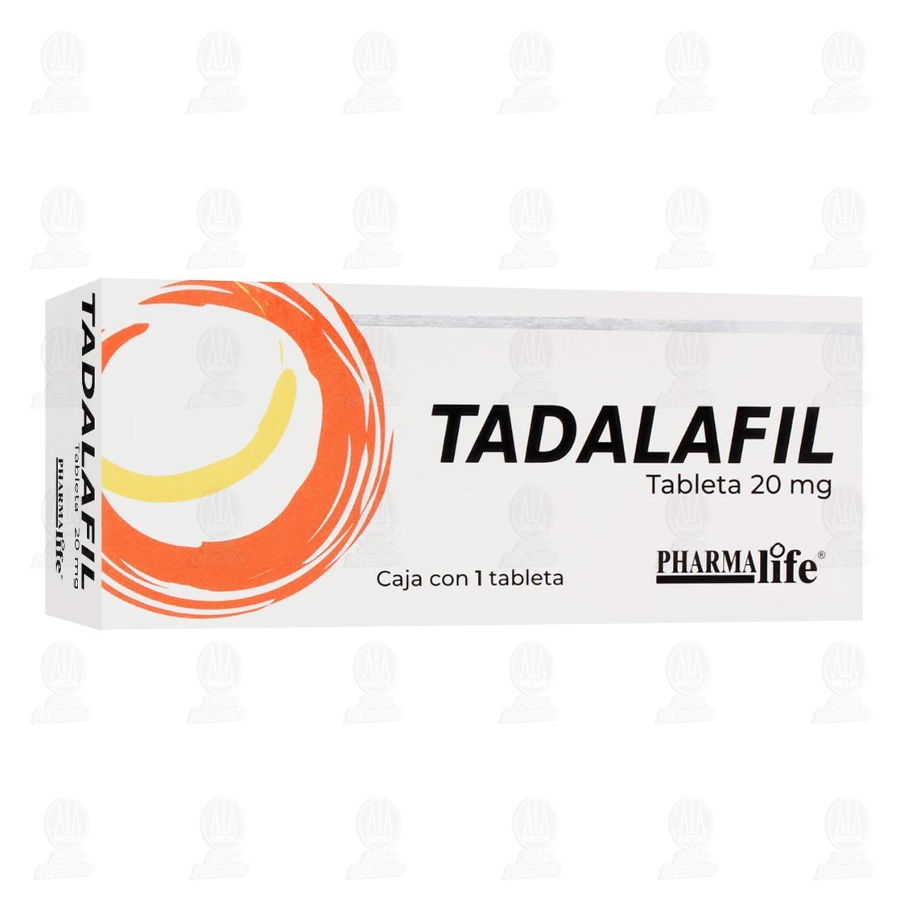 Comprar Tadalafil 20mg 1 Tableta Pharmalife en Farmacias Guadalajara