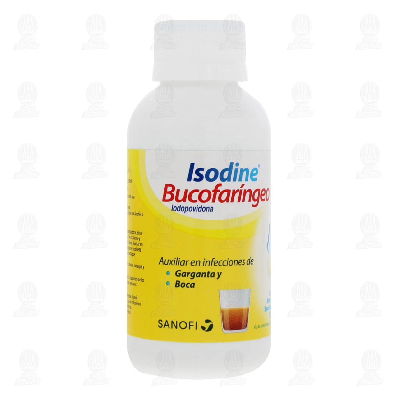 Isodine Bucofaríngeo Antiséptico Bucal Solución 120ml