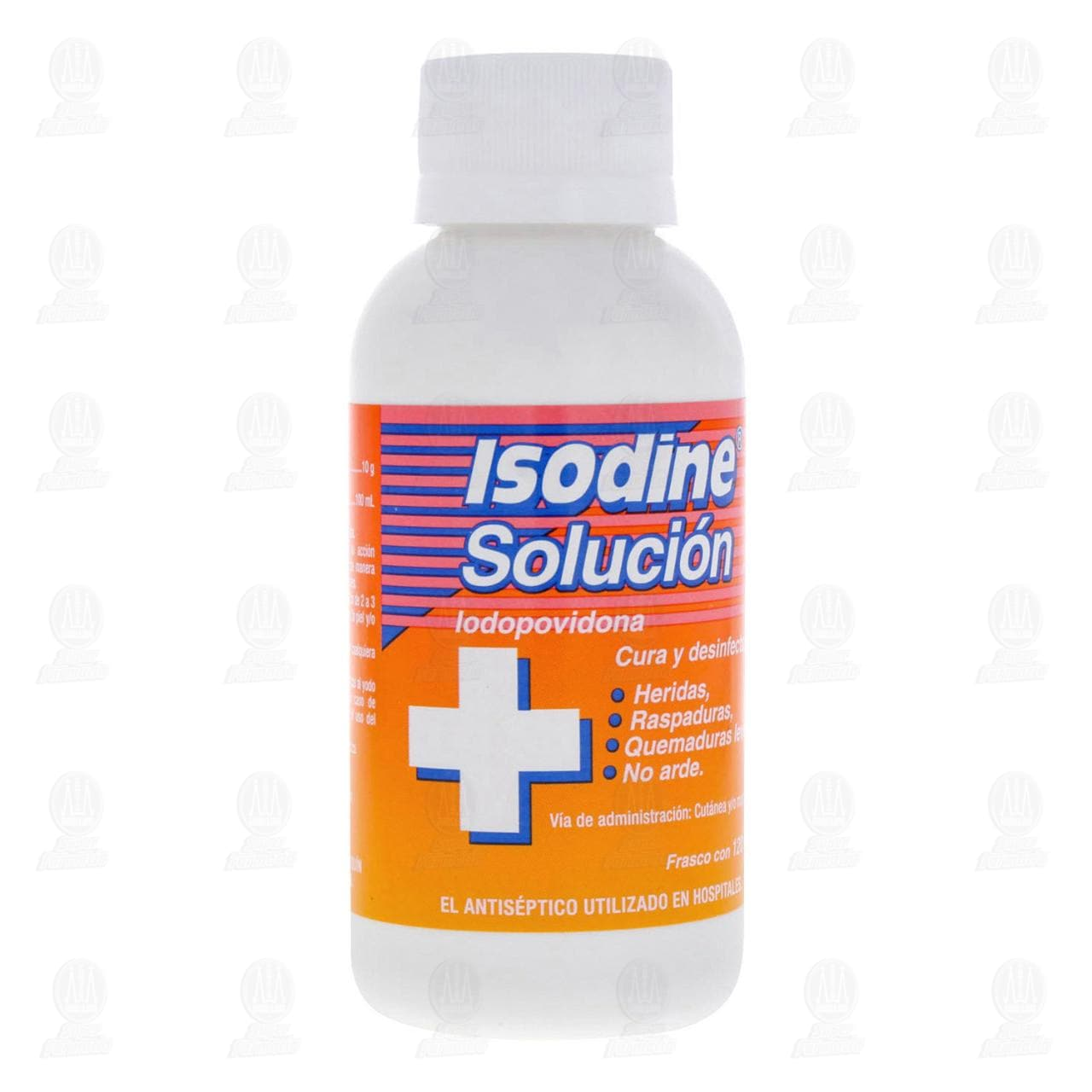 Isodine Antiséptico Solución 120ml