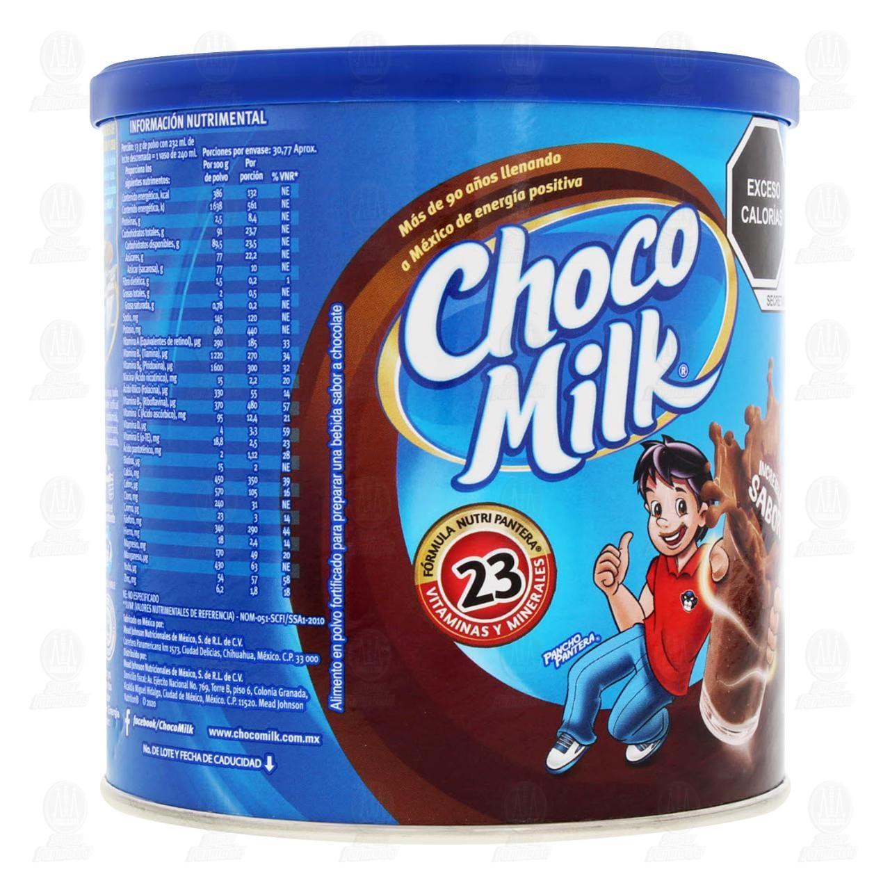 Comprar ChocoMilk Modificador de Leche en Polvo Sabor Chocolate, 400 gr. en Farmacias Guadalajara