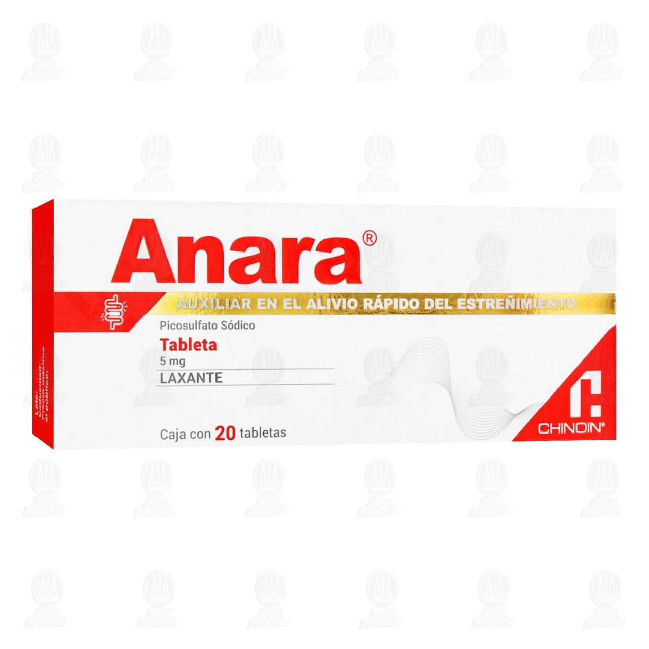 Anara 20 Tabletas