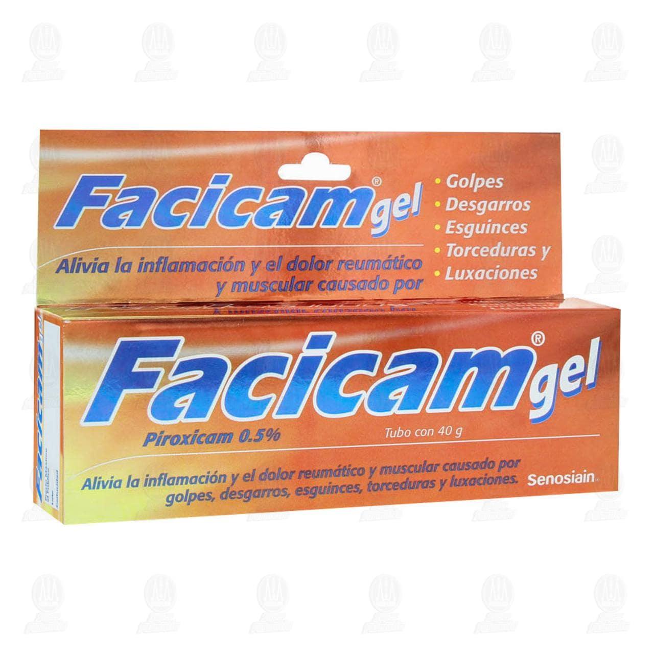 Comprar Facicam Gel 40gr 0.5% en Farmacias Guadalajara