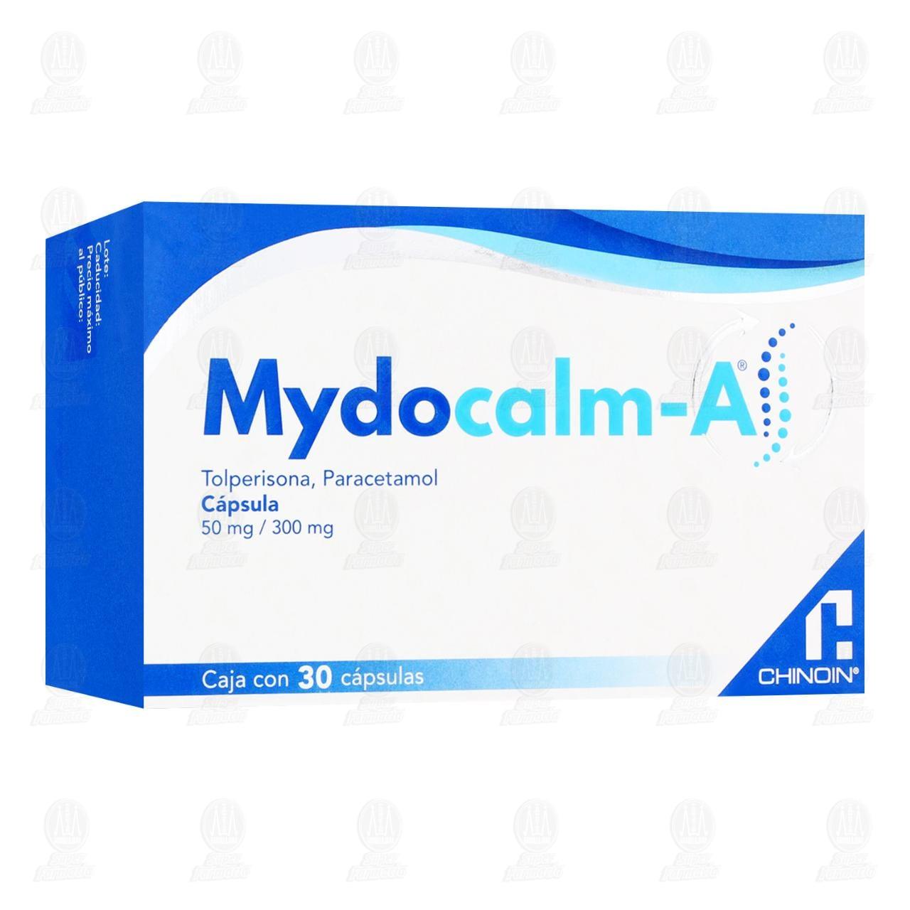 Mydocalm a 50mg/300mg 30 Cápsulas