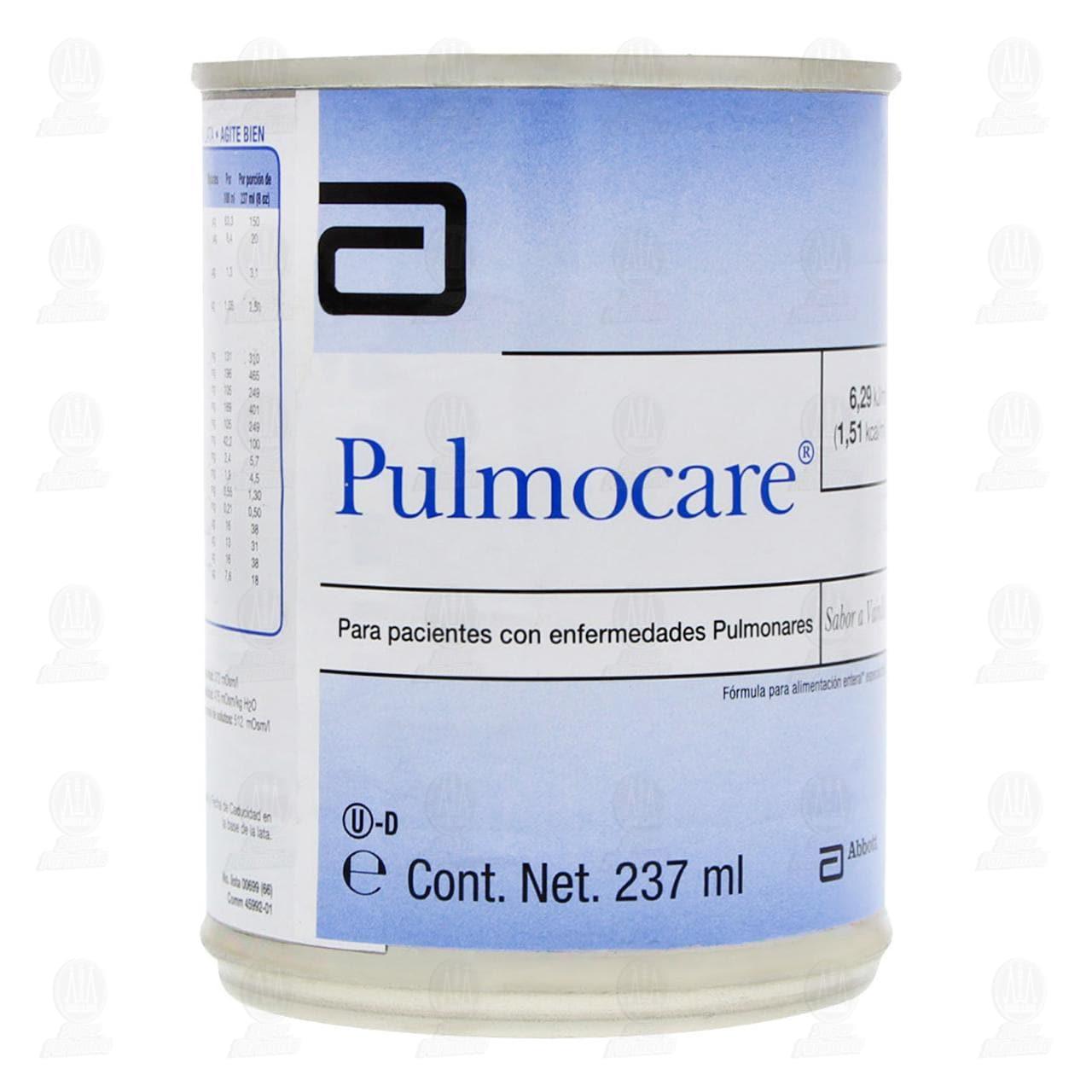 Comprar Pulmocare Vainilla 237ml en Farmacias Guadalajara