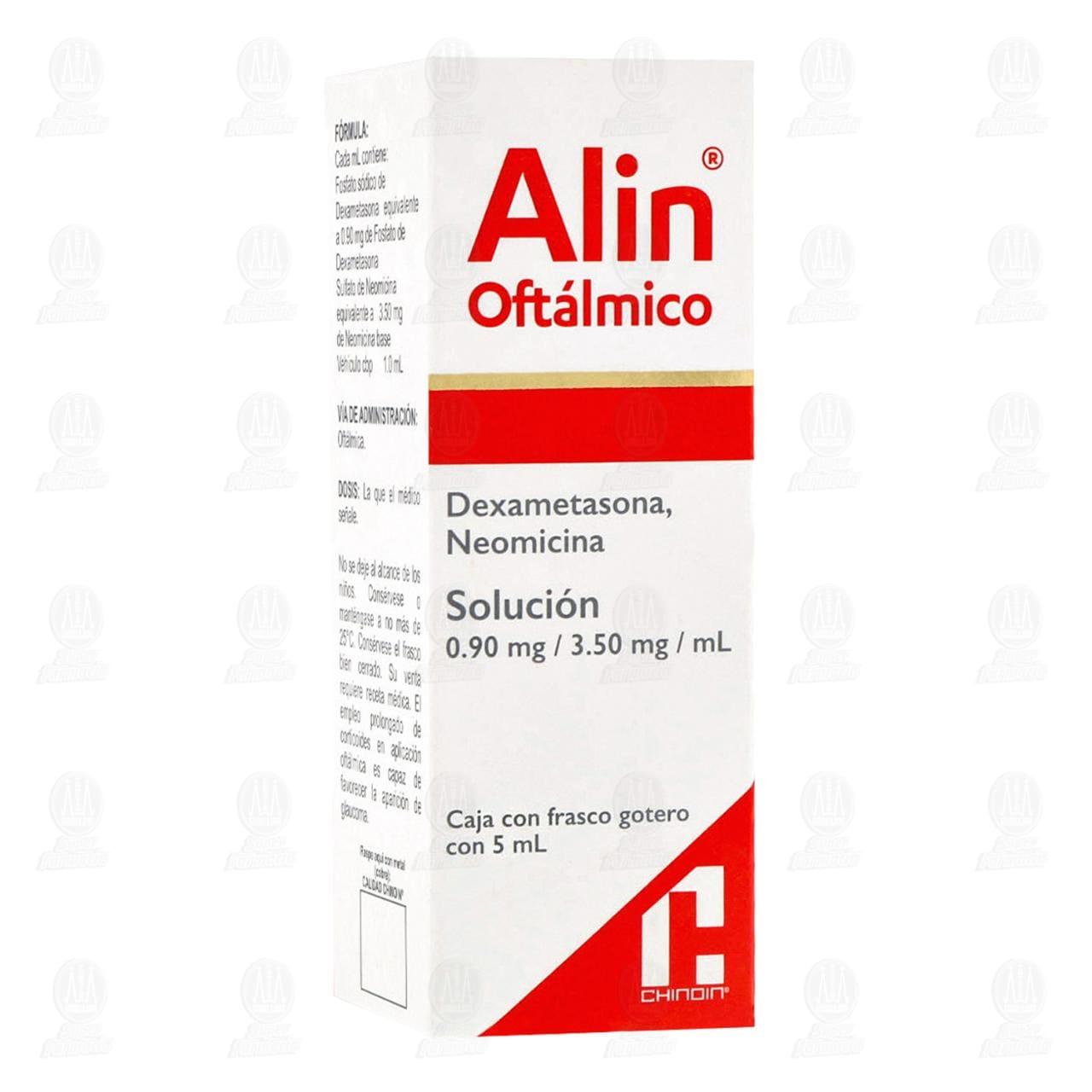 Comprar Alin Oftálmico 0.90mg/3.50mg 5ml en Farmacias Guadalajara