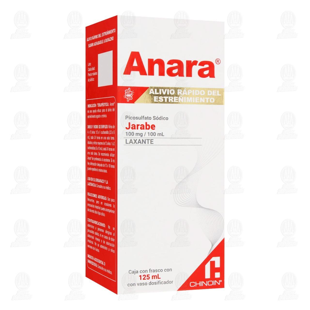 Comprar Anara 100mg/100ml 125ml Jarabe en Farmacias Guadalajara