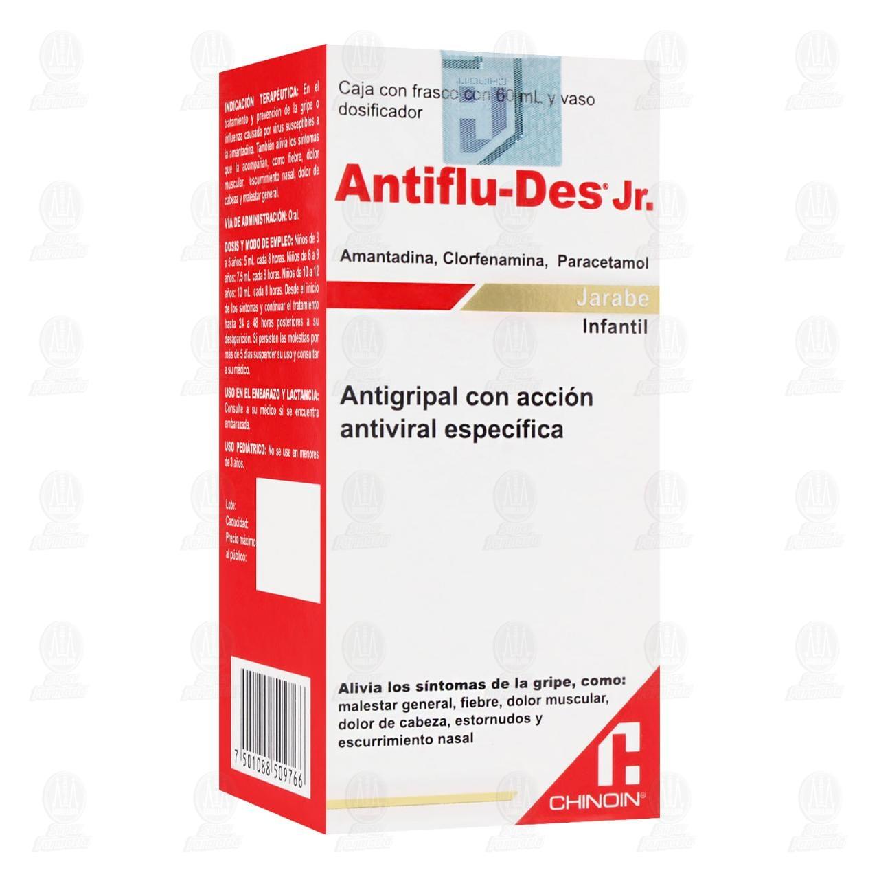 Comprar Antiflu-Des Jr. Jarabe Infantil 60ml en Farmacias Guadalajara