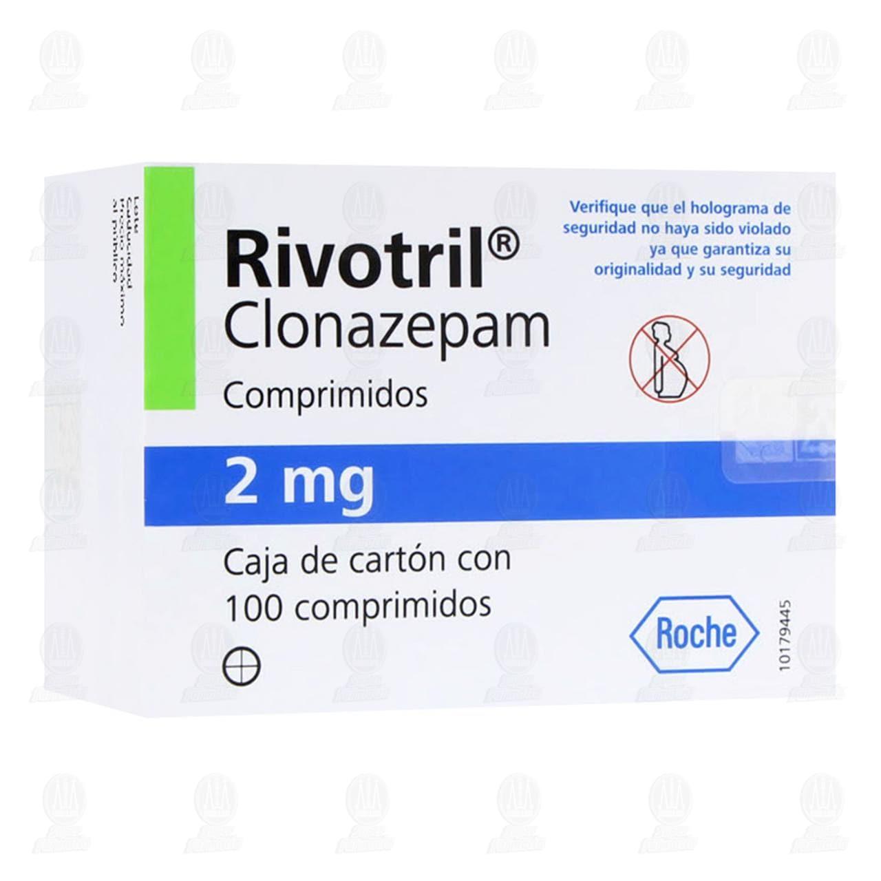 Comprar Rivotril 2mg 100 Comprimidos en Farmacias Guadalajara