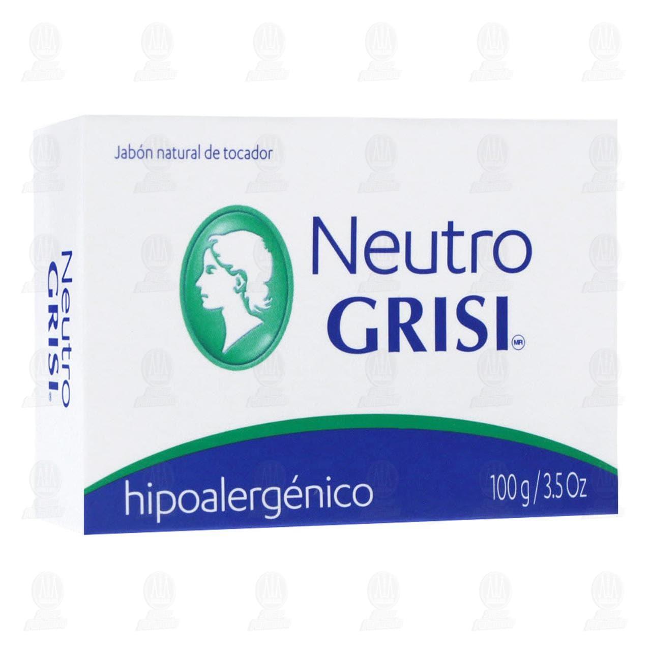 Comprar Jabón Neutro Grisi, 100 gr. en Farmacias Guadalajara