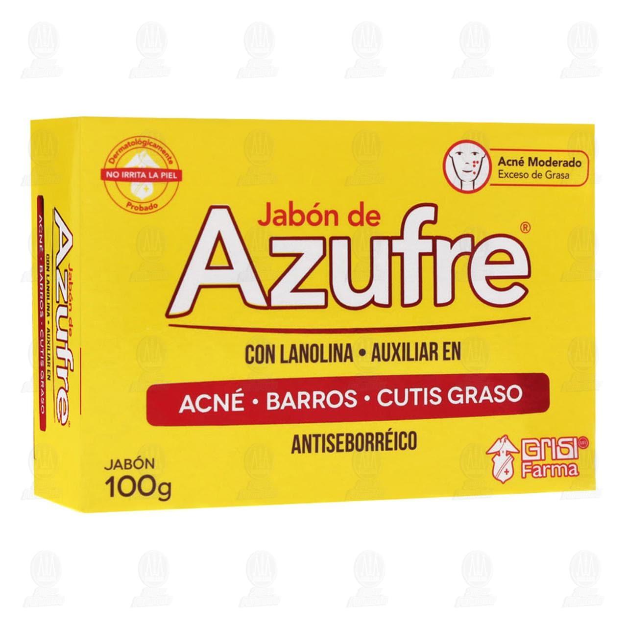 Comprar Jabón de Azufre Grisi con Lanolina Antiseborréico, 100 gr. en Farmacias Guadalajara