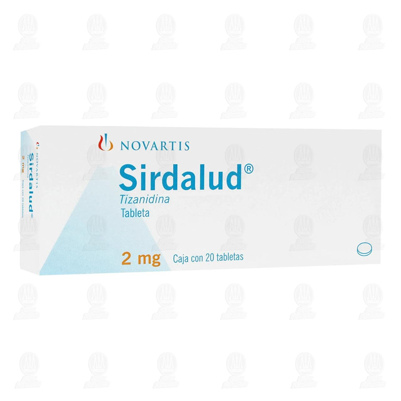 Comprar Sirdalud 2mg 20 Tabletas en Farmacias Guadalajara