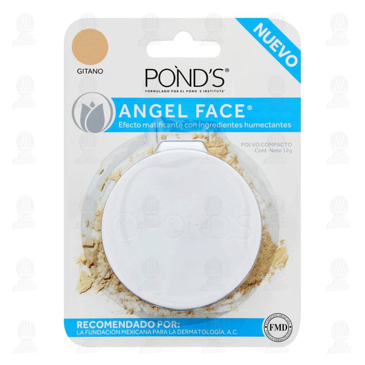 Maquillaje en Polvo Pond's Angel Face Color Gitano, 12 gr.