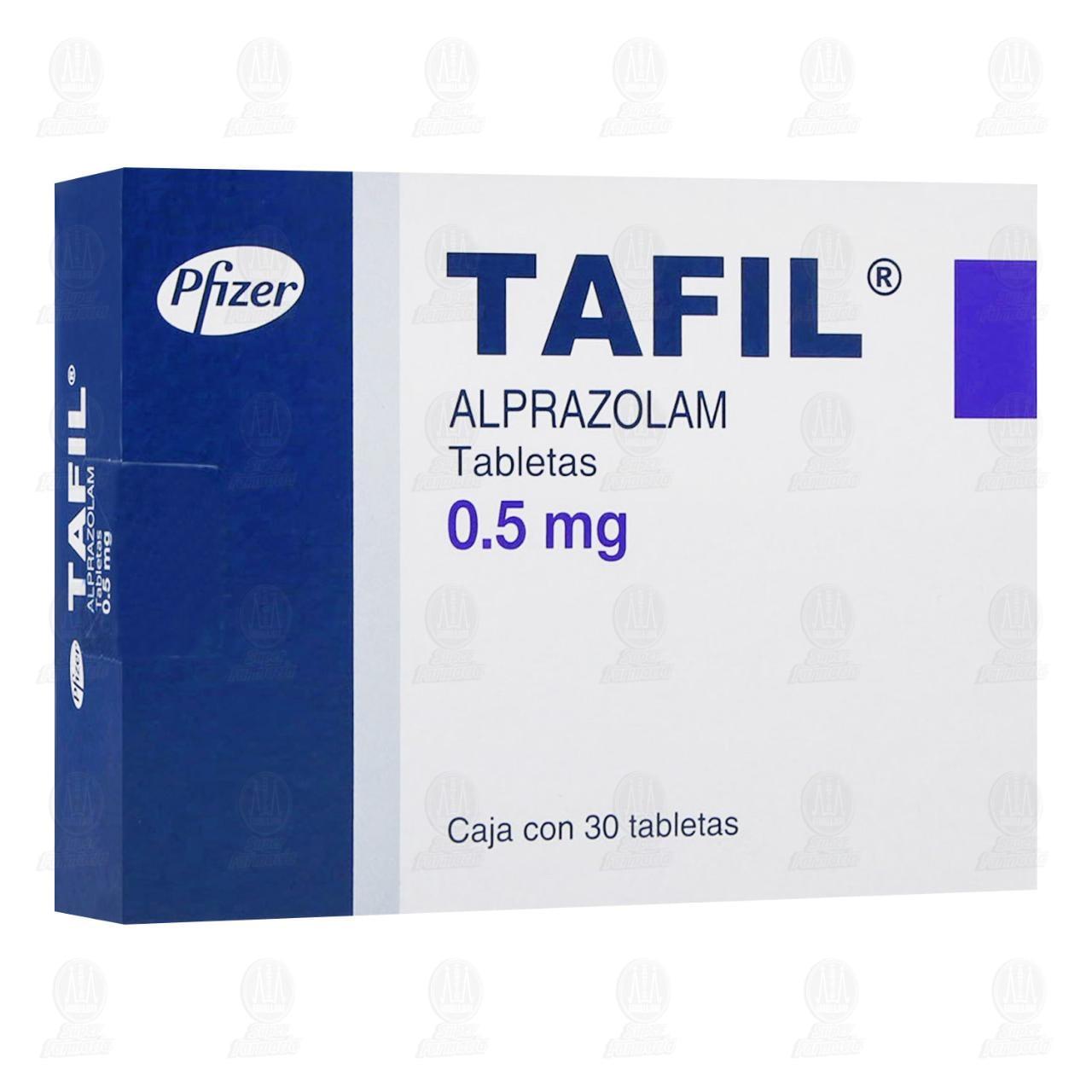 Tafil 0.50mg 30 Tabletas