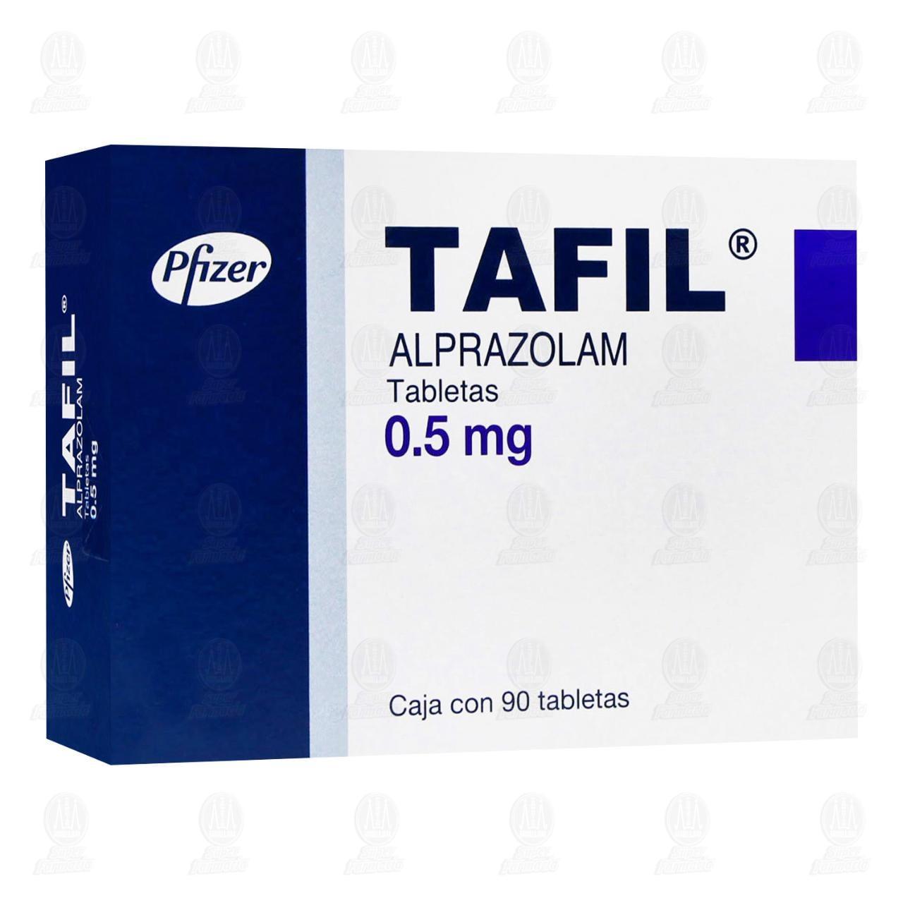 Tafil 0.50mg 90 Tabletas