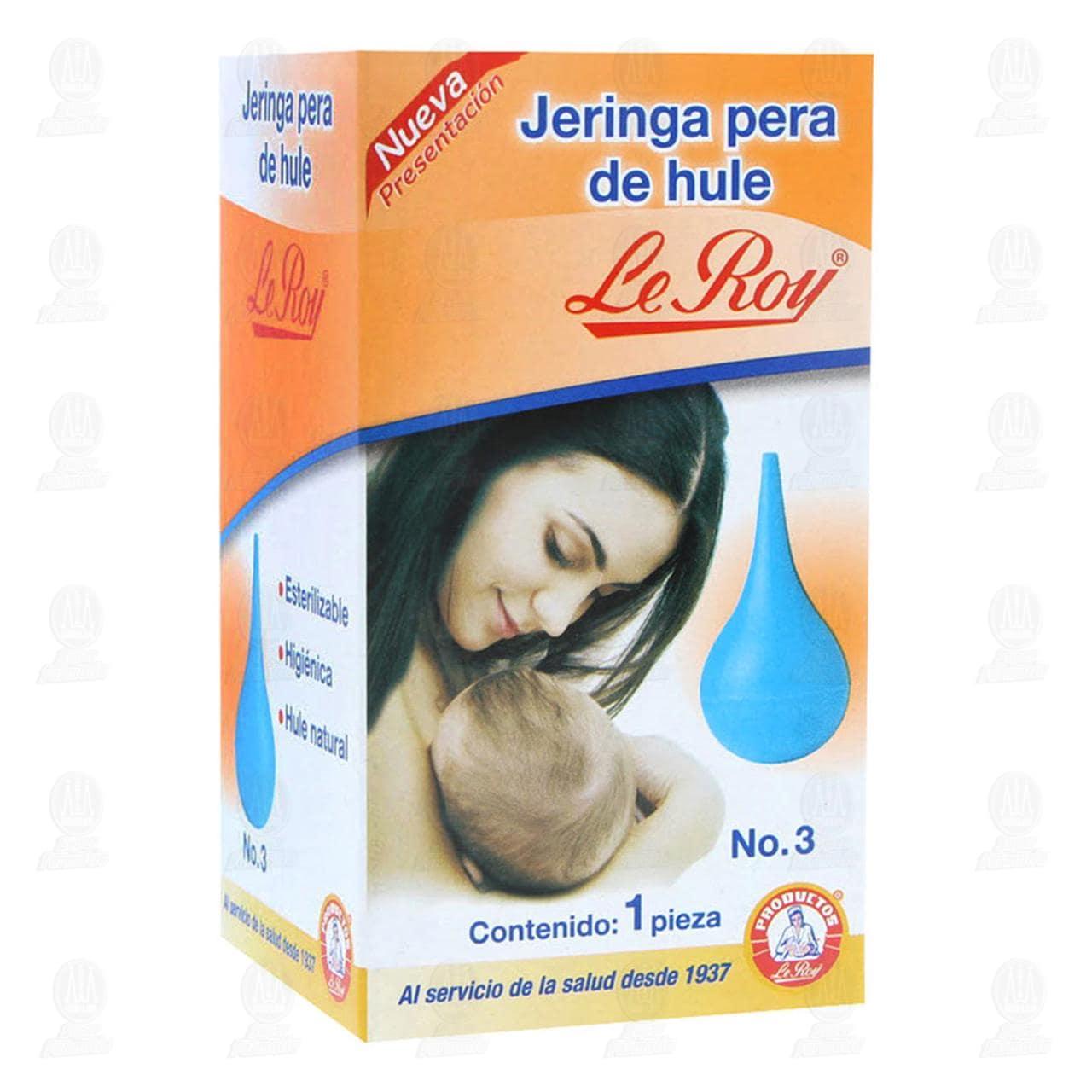 Comprar Jeringa Pera Le Roy de Hule No.3 1pz en Farmacias Guadalajara
