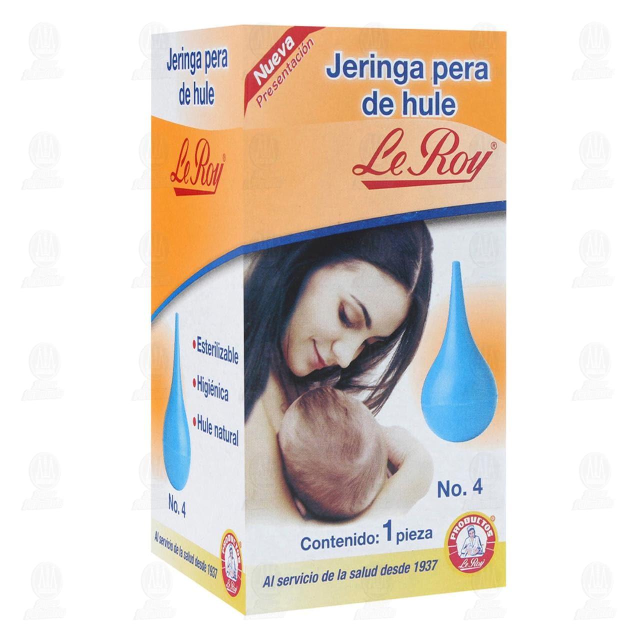 Comprar Jeringa Pera Le Roy de Hule No.4 1pz en Farmacias Guadalajara