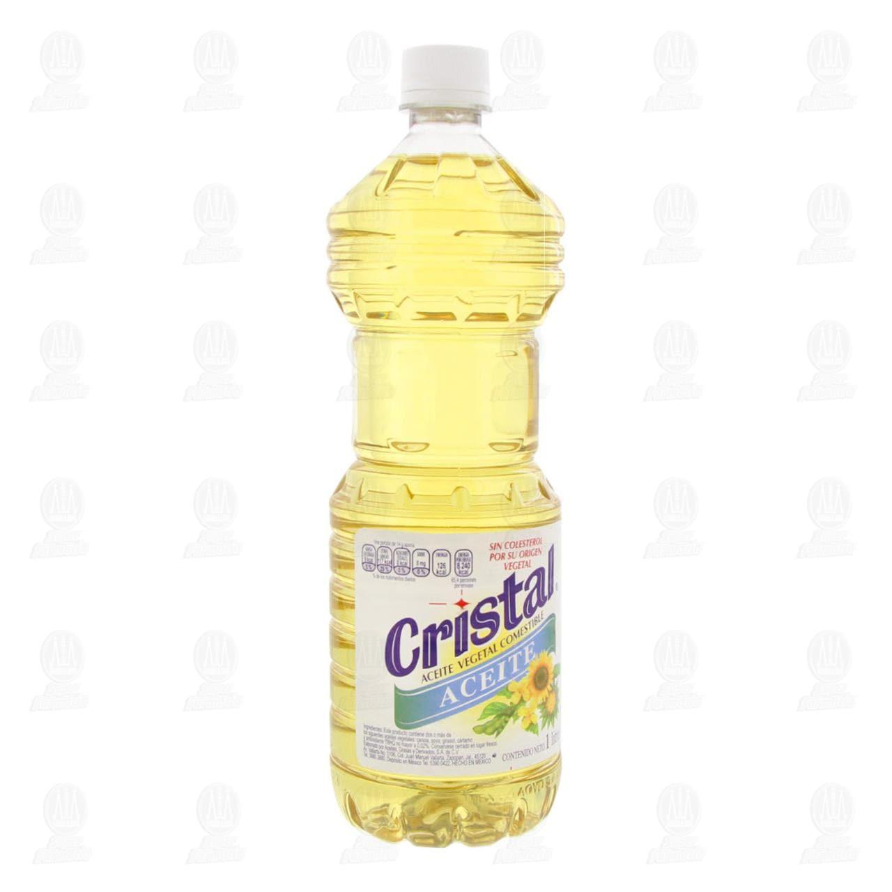 Aceite Comestible Cristal, 1 l.