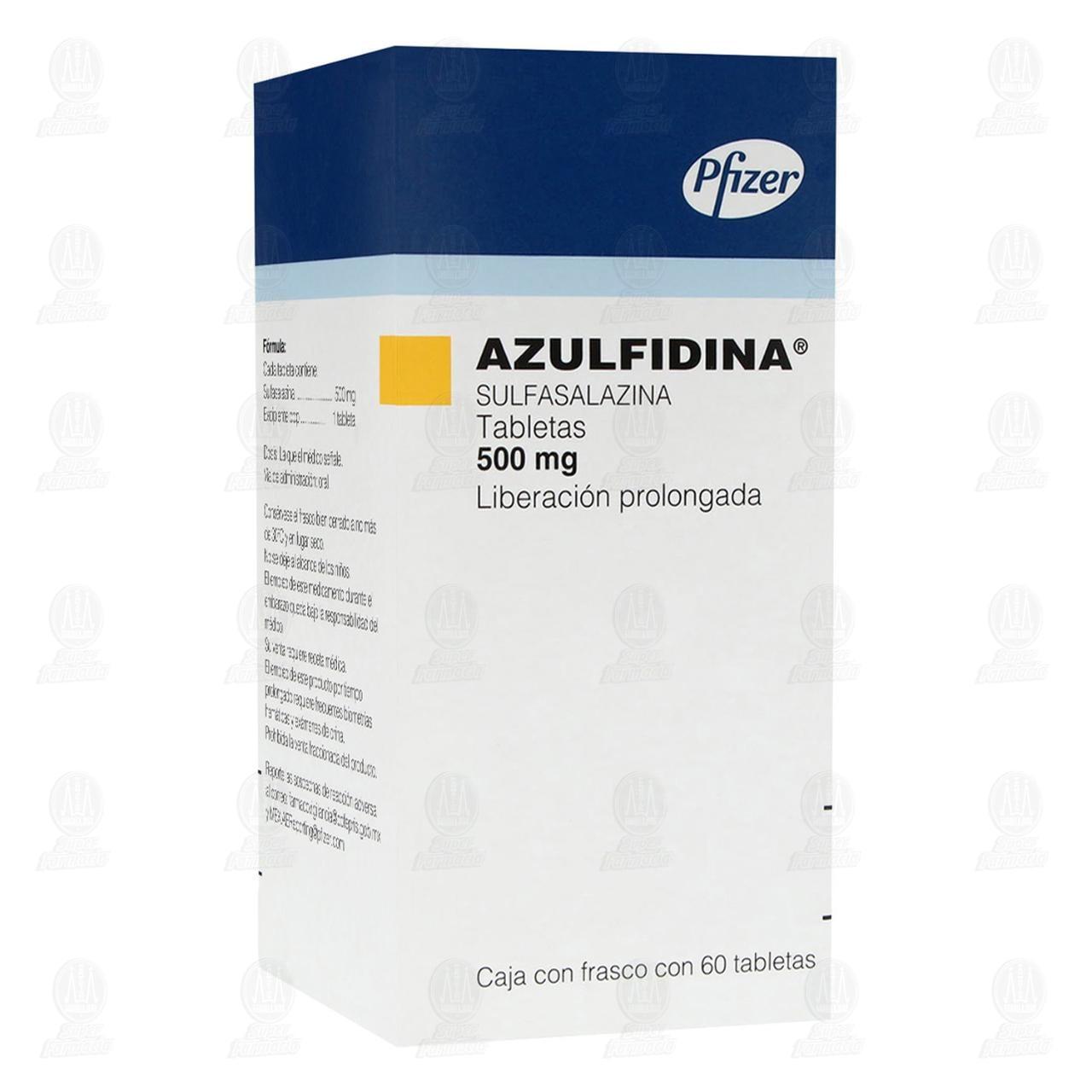 Azulfidina 500mg 60 Tabletas