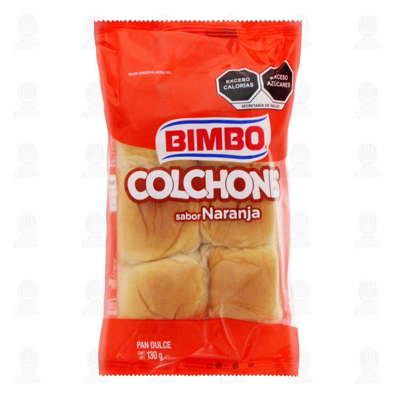 Comprar Colchones Bimbo, 6 pzas 130 gr. en Farmacias Guadalajara