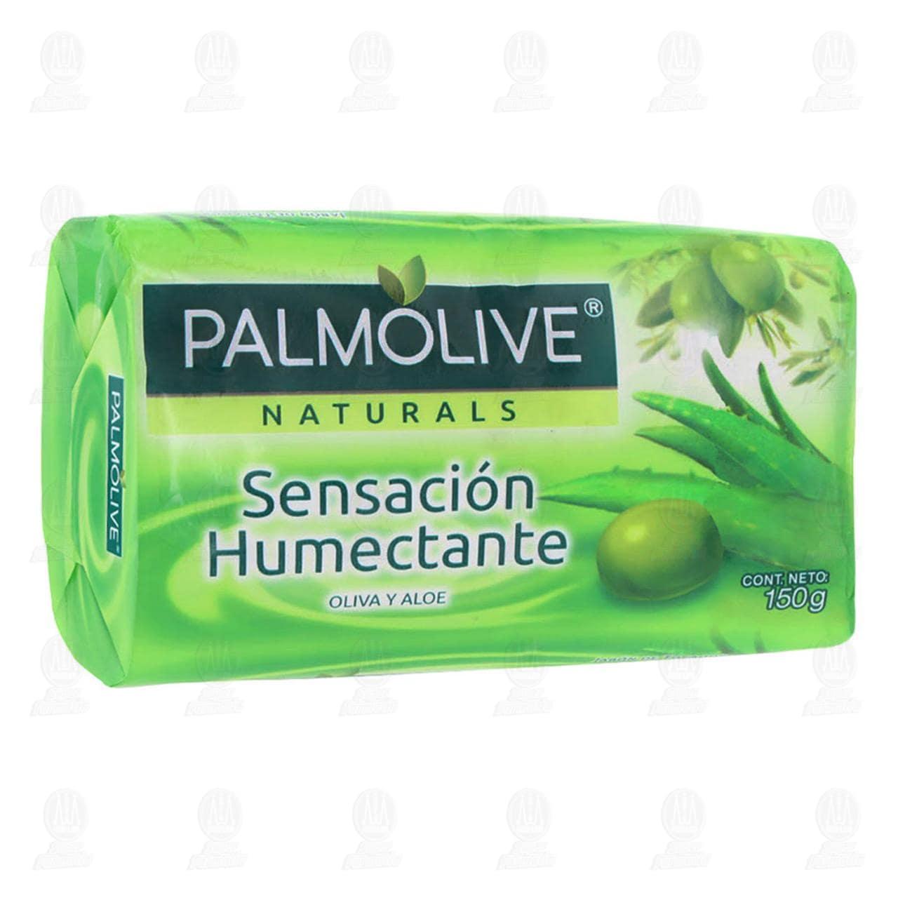 Jabón en Barra Palmolive Naturals Sensación Humectante, 150 gr.