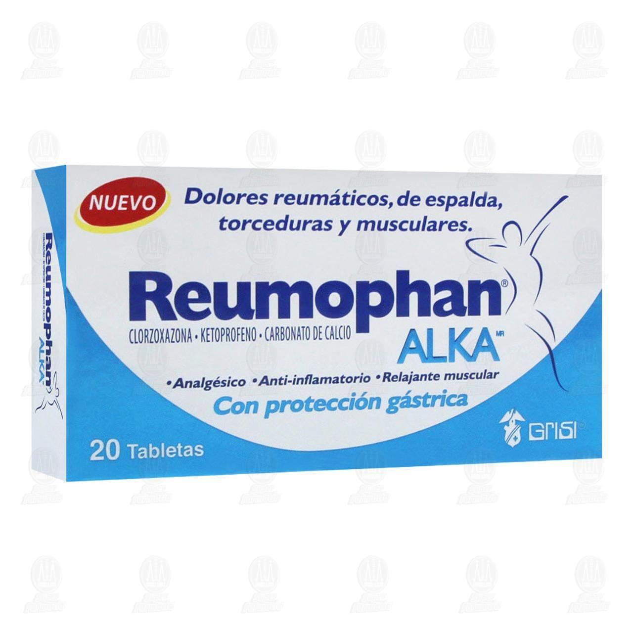 Reumophan Alka 20 Tabletas