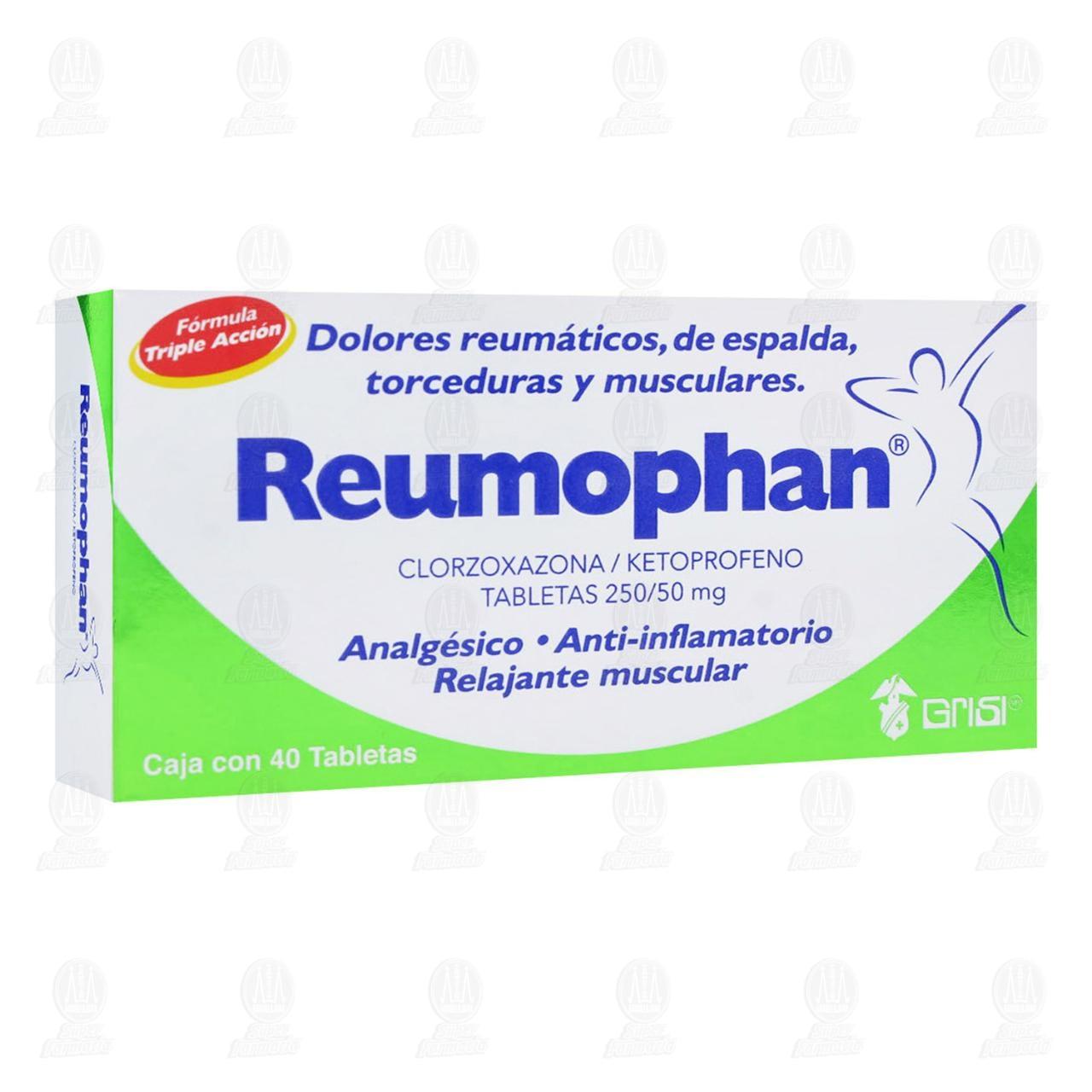 Reumophan 40 Tabletas