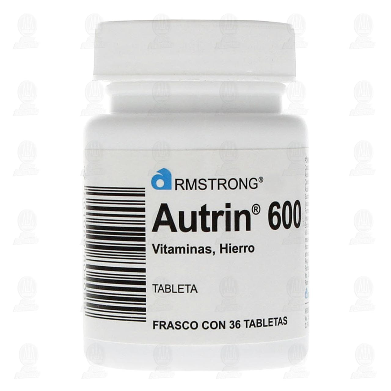 Autrin 600mg 36 Tabletas