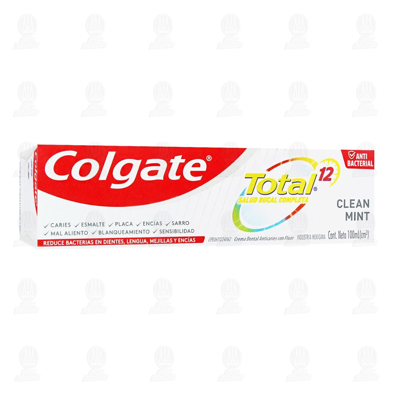 Pasta dental Colgate Total 12 Clean Mint, 100 ml.