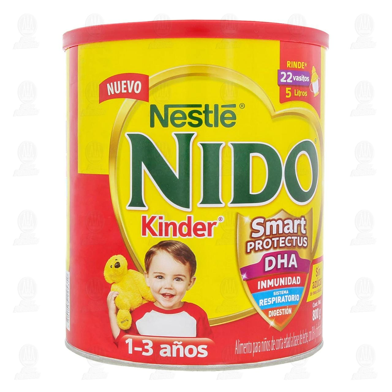 Comprar Alimento para Niños Nido Kinder 1 a 3 Años, 800 gr. en Farmacias Guadalajara