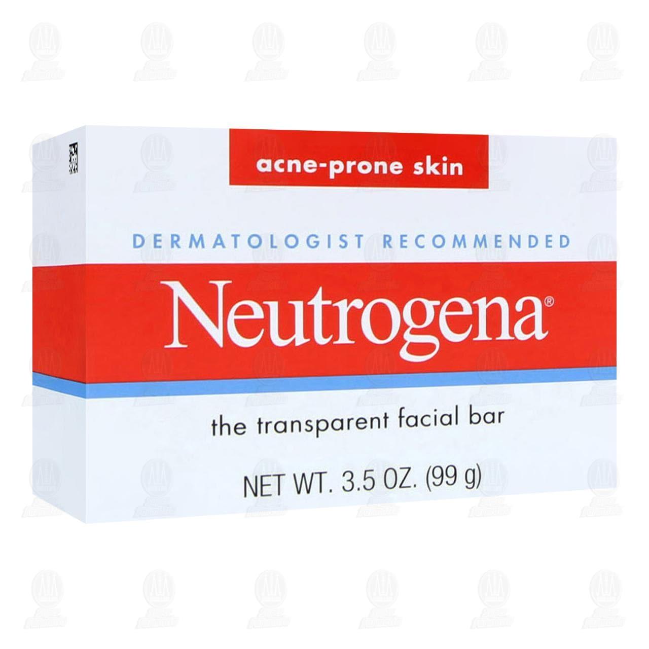 Comprar Jabón Facial en Barra Neutrogena Anti Acné, 99 gr. en Farmacias Guadalajara