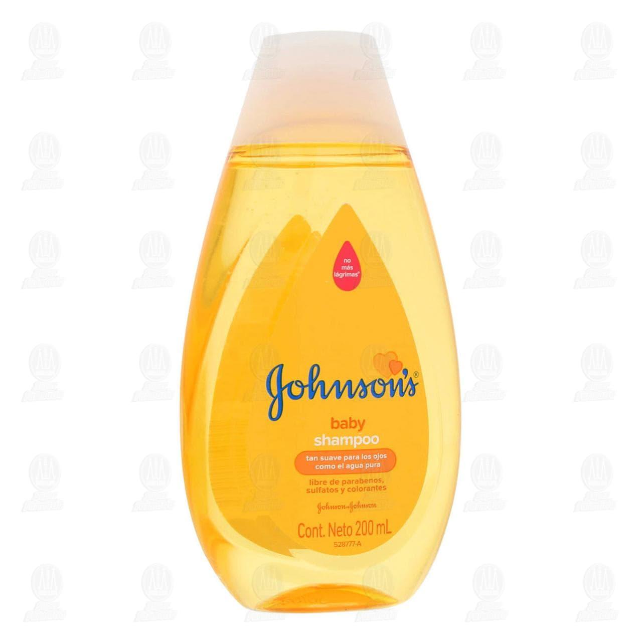 Shampoo para Bebé Johnson's Baby con pH Balanceado, 200 ml.