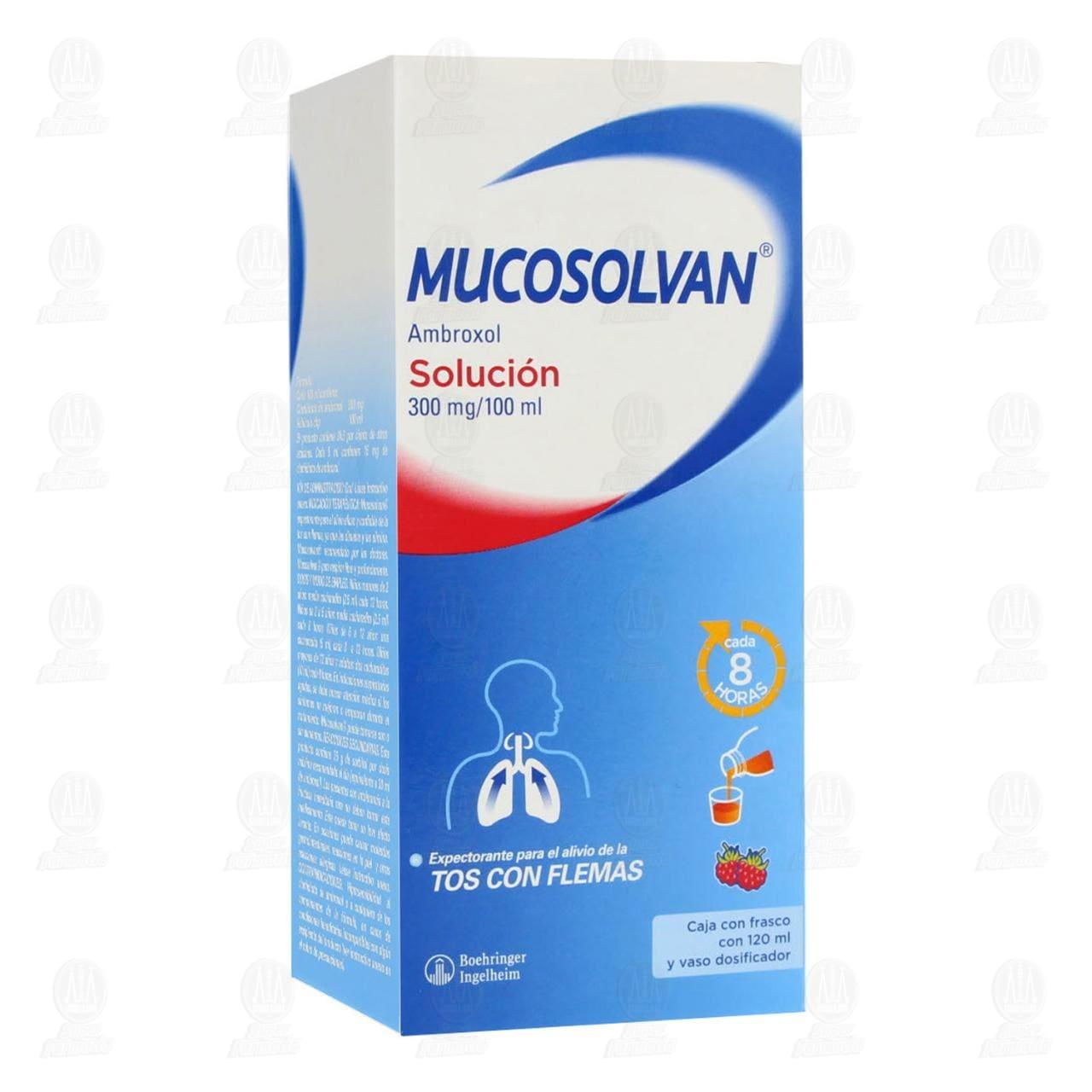 Comprar Mucosolvan Solución 300mg/100ml 120ml en Farmacias Guadalajara
