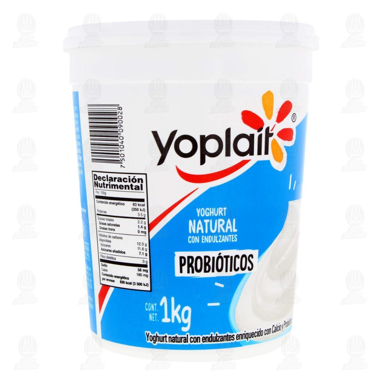 Yoghurt Yoplait Natural, 1 kg.
