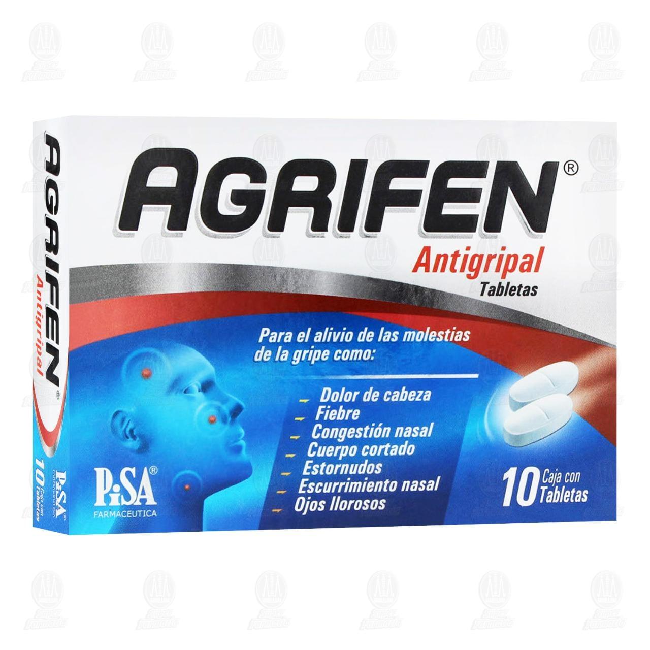 Agrifen 10 Tabletas
