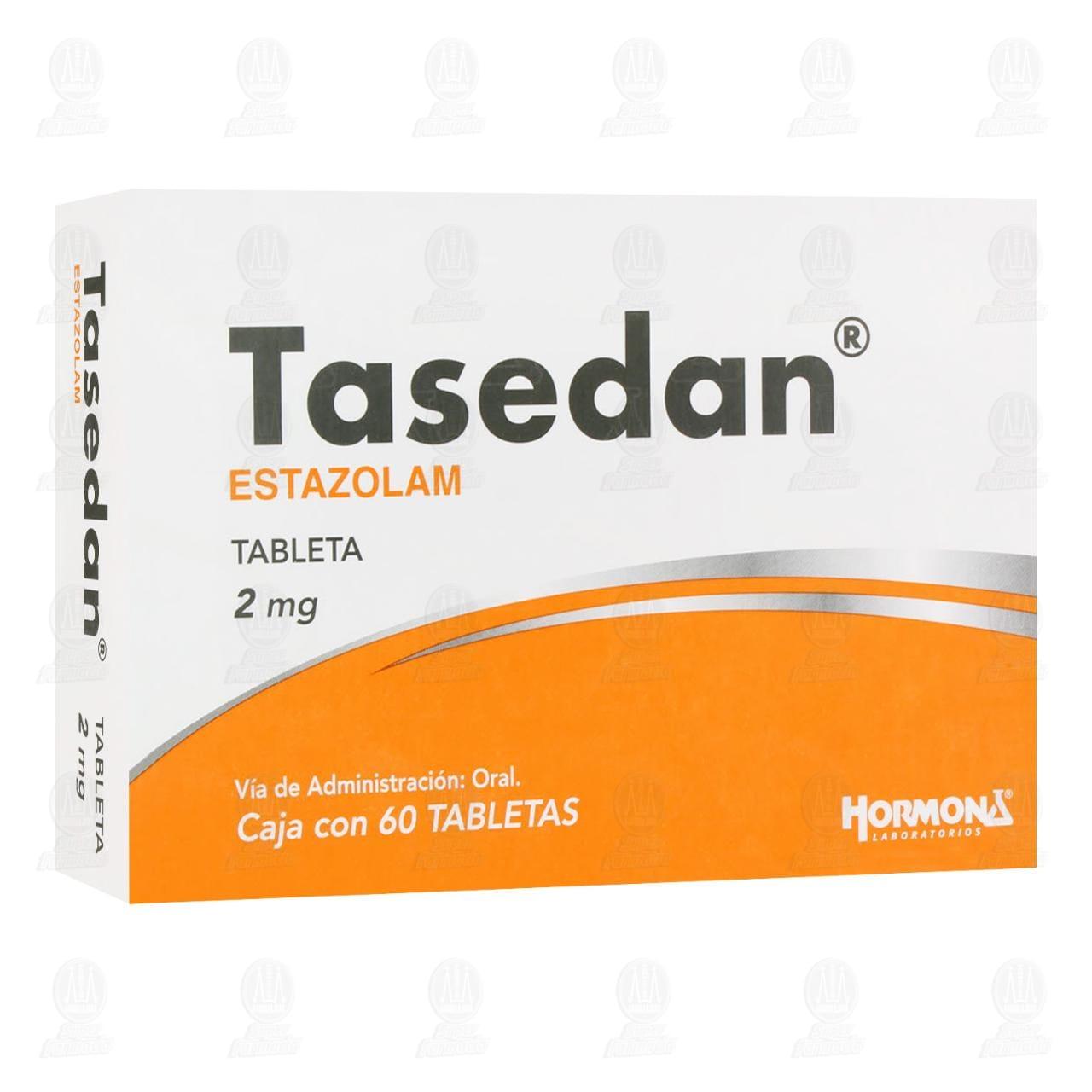 Comprar Tasedan 2mg 60 Tabletas en Farmacias Guadalajara