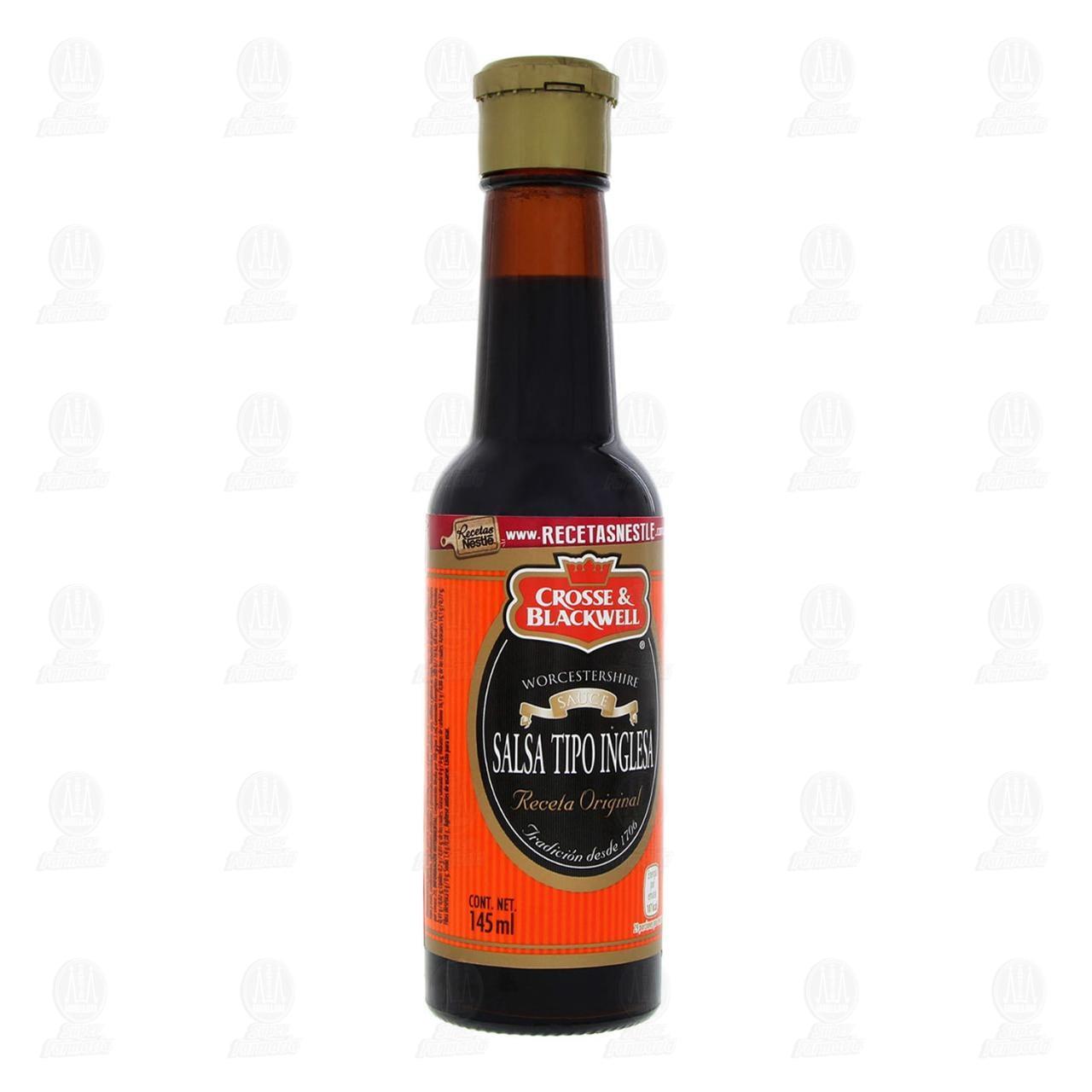 Salsa Crosse & Blackwell Tipo Inglesa, 145 ml.