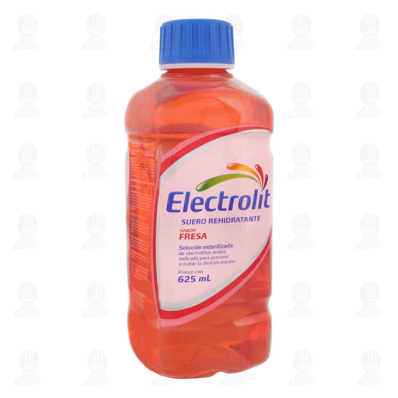 Comprar Electrolit Fresa Oral 625ml en Farmacias Guadalajara