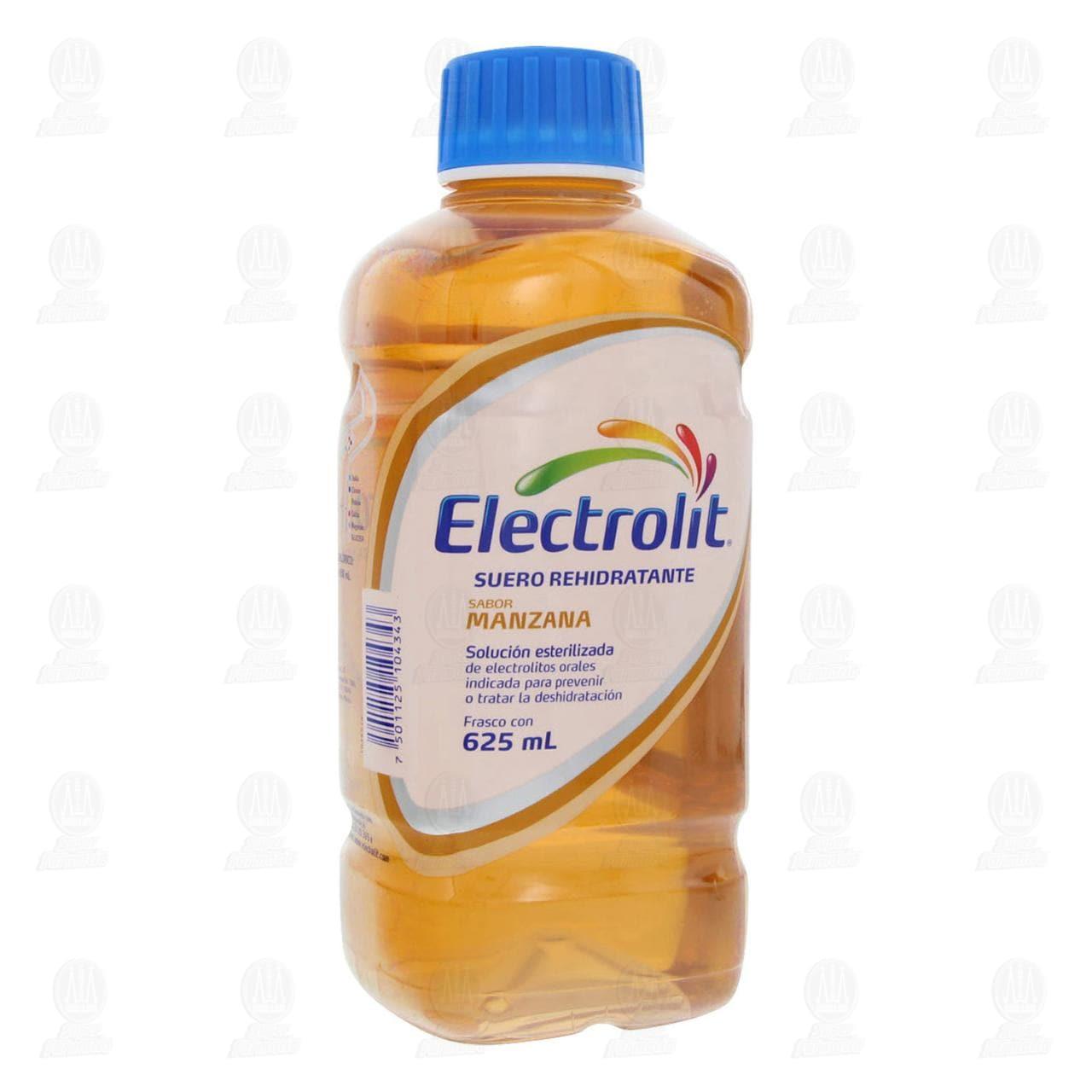 Comprar Electrolit Manzana Oral 625ml en Farmacias Guadalajara