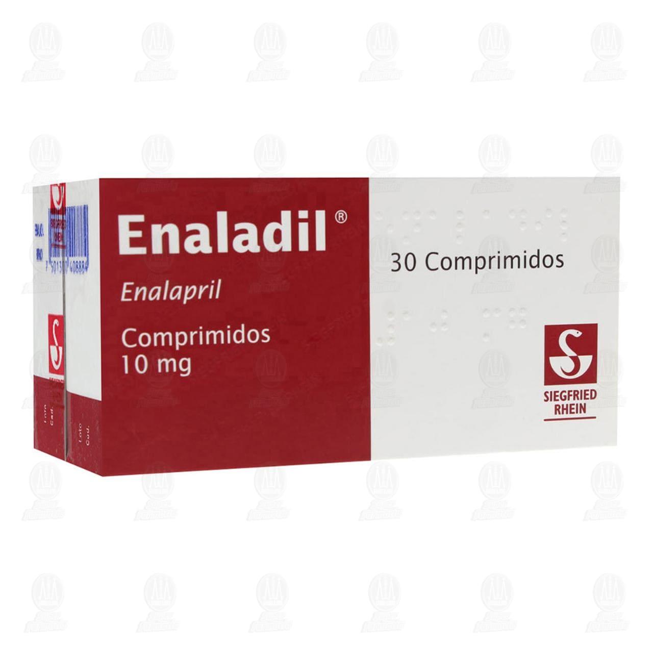 Comprar Enaladil 10mg 30 Comprimidos Dual 2 Cajas en Farmacias Guadalajara