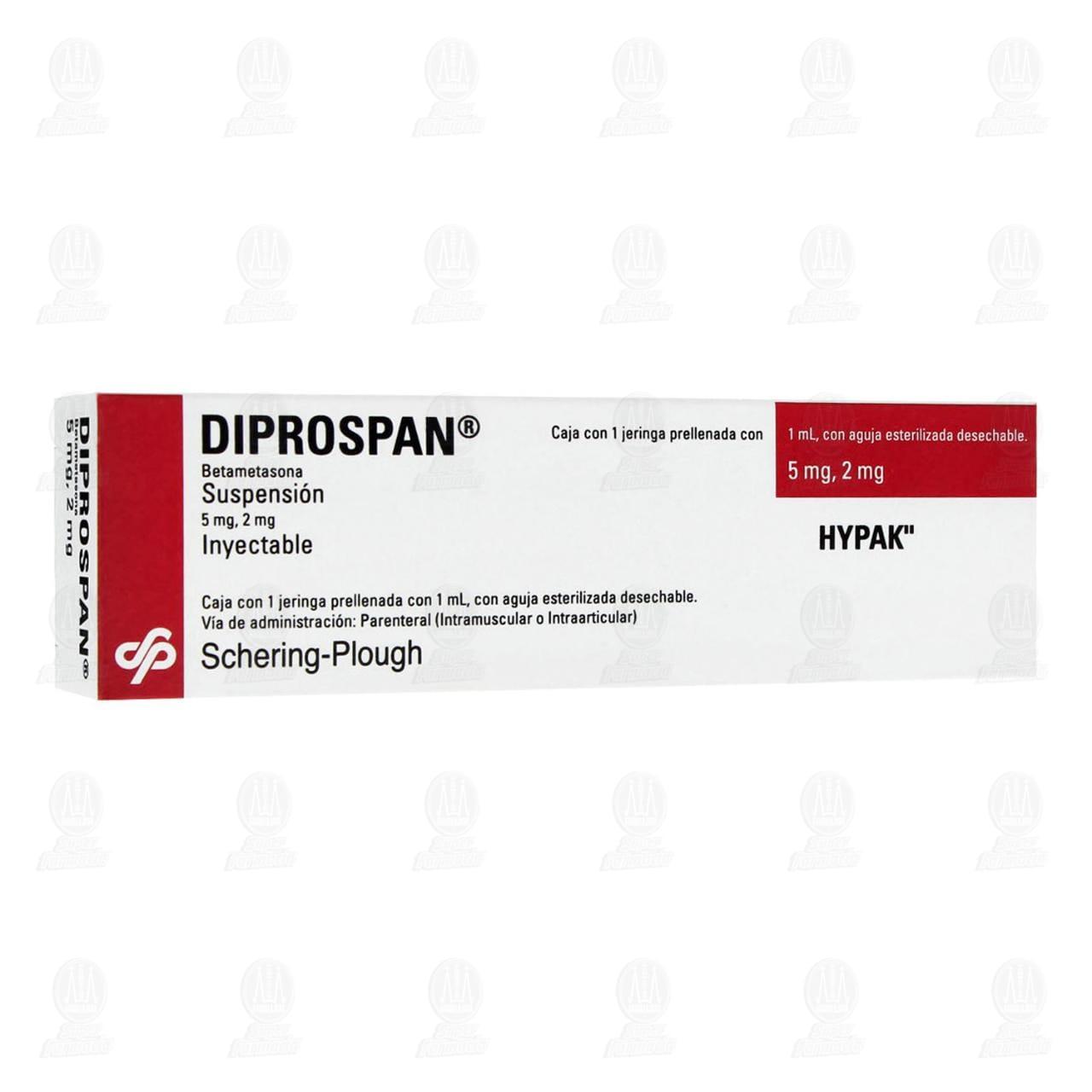 Comprar Diprospan Hypak 1ml Suspensión Inyectable en Farmacias Guadalajara