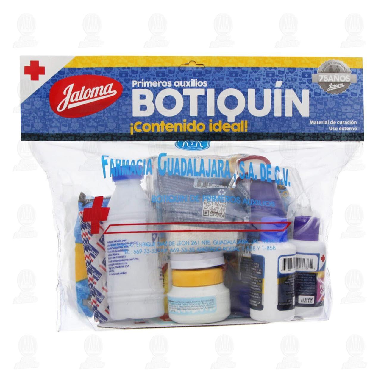 Comprar Botiquín Jaloma en Farmacias Guadalajara