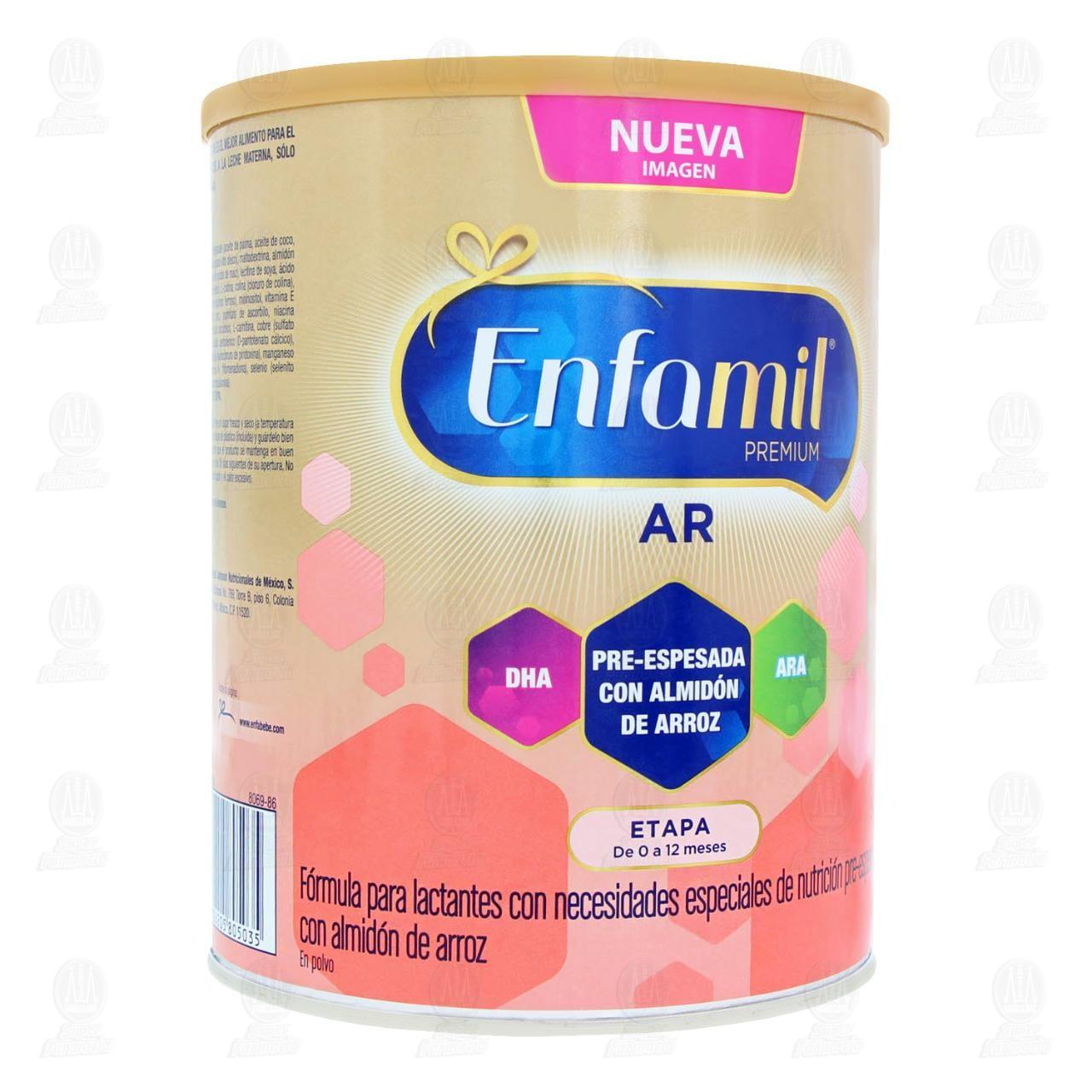 Enfamil A.R. Fórmula Infantil Especializada 0 a 12 Meses, 900 gr.
