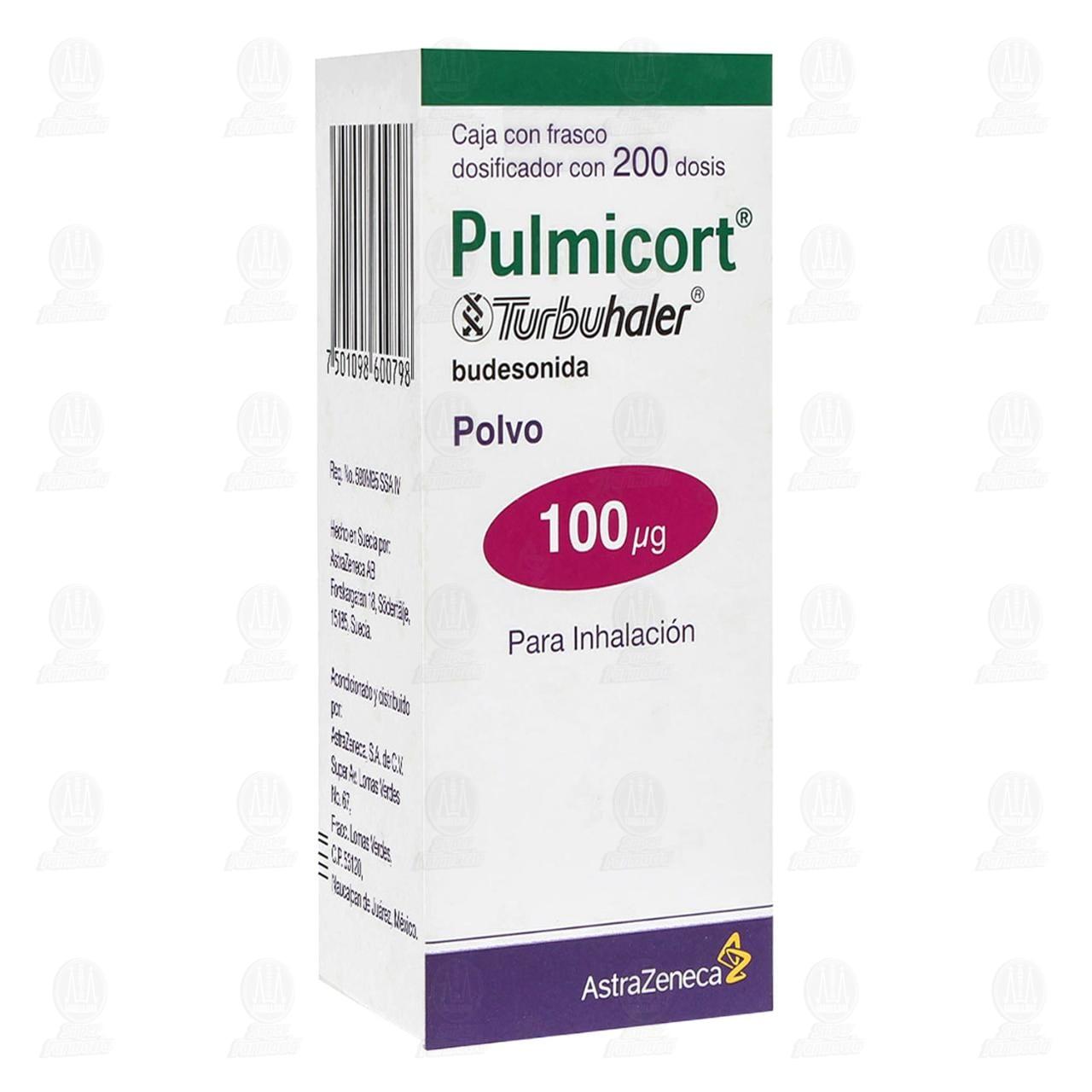 Comprar Pulmicort Turbuhaler 100mcg Polvo para Inhalación Frasco Dosificador 200 Dosis en Farmacias Guadalajara