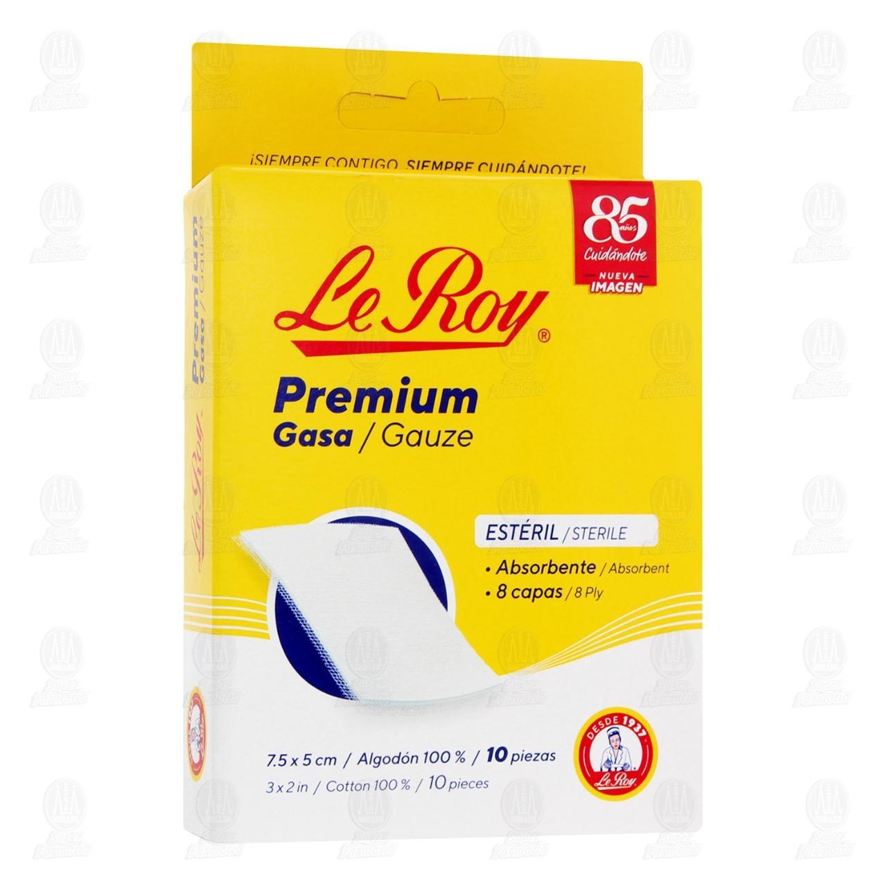 Gasa Le Roy 7.5 x 5 cm 10 Piezas