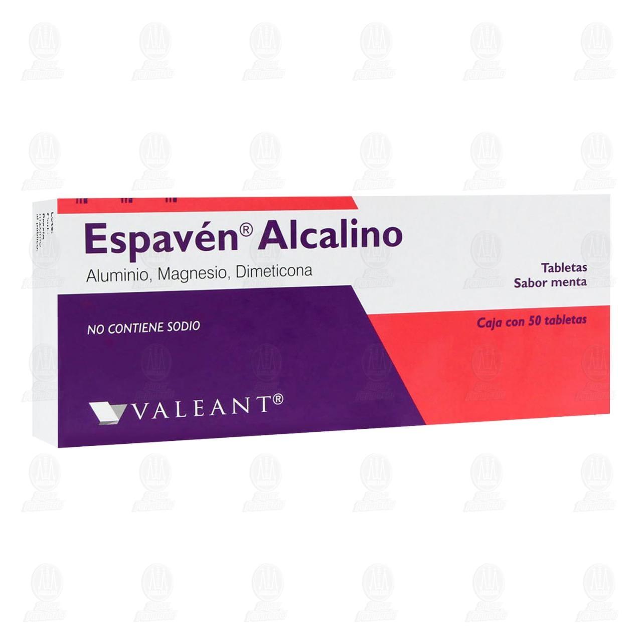 Comprar Espavén Alcalino 50 Tabletas en Farmacias Guadalajara
